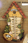 Birdhouse Thermometer