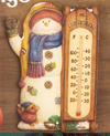 Snowman Thermomter