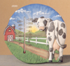 Round Cow Thermometer