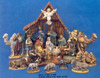 21 Piece Nativity Figures