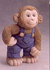 Monkey with Overalls
