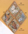 Four Butterfly Plaque