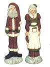 Mr. & Mrs Clause Stick Figures