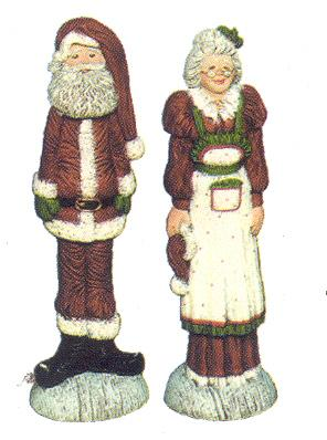 Well-liked WNM1830-Mr-Mrs-Claus-Stick-  DL27